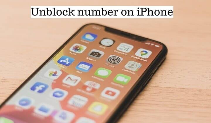 How to unblock a number on a iphone (1)