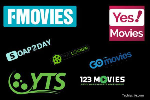 123Movies, Gomovies, Fmovies, Putlocker, Soap2day, Yesmovies, Yify movies Alternatives