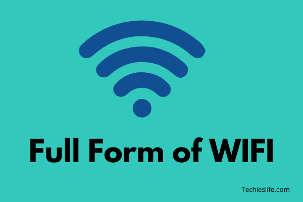 WIFI Full Form and what is Wireless Fidelity