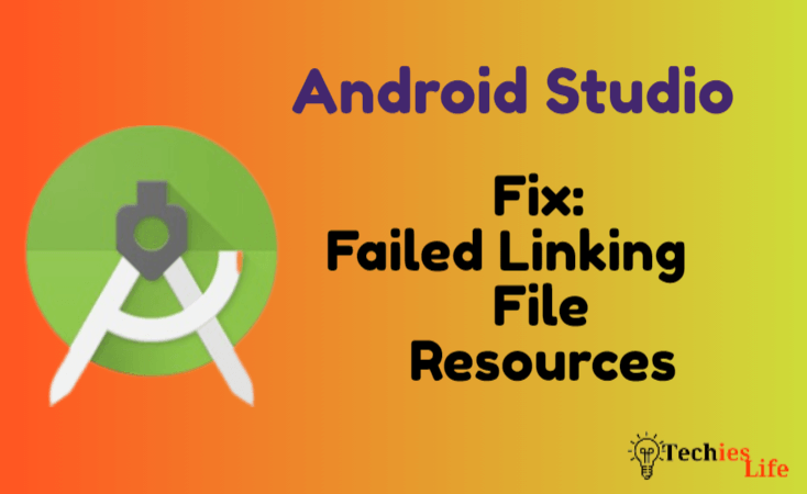 Fix: Failed linking file resources