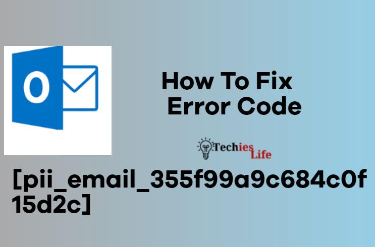 Fix Error code [pii_email_355f99a9c684c0f15d2c]